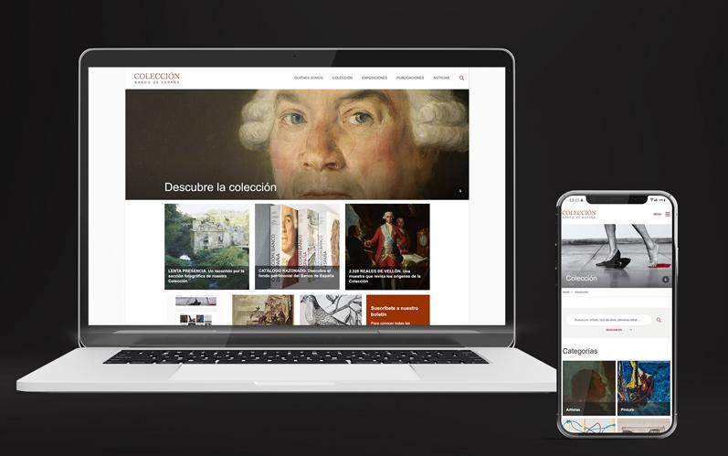 Web Colección Banco de España